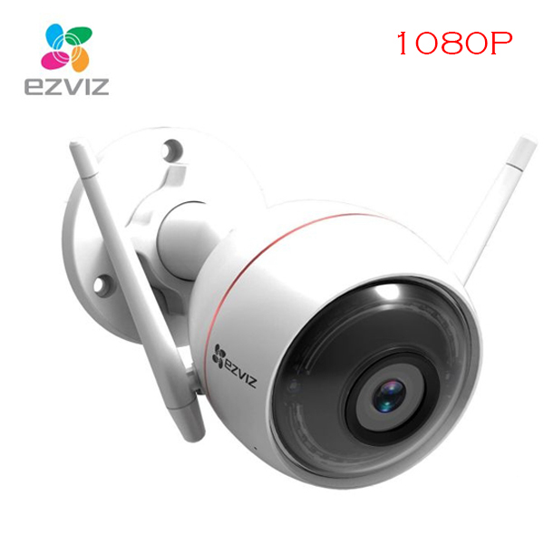 2.0Mpx - 1080P / IP-Wifi Outdoor Camera EZVIZ C3W (Include Arlam LED, Mic, Speaker)