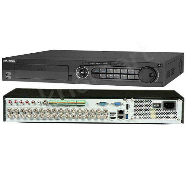 32CH 2K DVR HIKVISION DS-7332HUHI-K4 / 265+ ເທກໂນໂລຢີໃຫມ່ ເກັບຂໍມູ່ນໄດ້ຫລາຍກ່ວາ