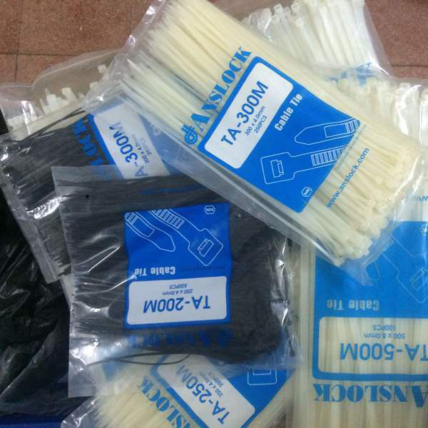 400x6mm Plastic Cable-Lock Tie(250pcs)