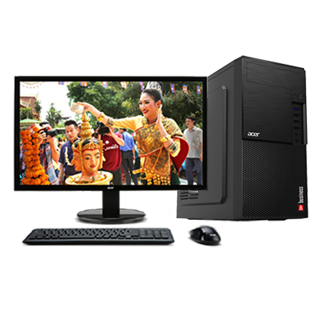 ACER Business D860 Core i5-4590s 3.0Ghz Tubor 3.7Ghz RAM DDR3 4Gb HDD 1000Gb DVD Monitor 18.5