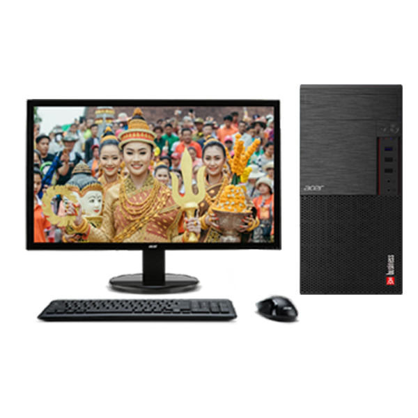 ACER Business E190 / Core™ i5-9400 2.9Ghz(Tubor 4.1Ghz) | RAM DDR4 8Gb | HDD 1000Gb | DVD | Monitor 21.5