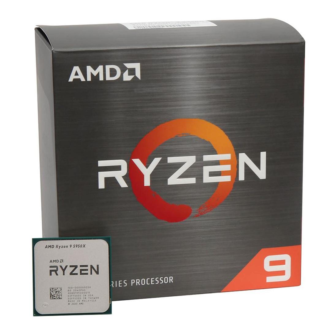 AMD® Ryzen™ 9 5950X 3.4Ghz(Tubor 4.9Ghz) / 16 cores - 32 threads / AM4 (BOX)