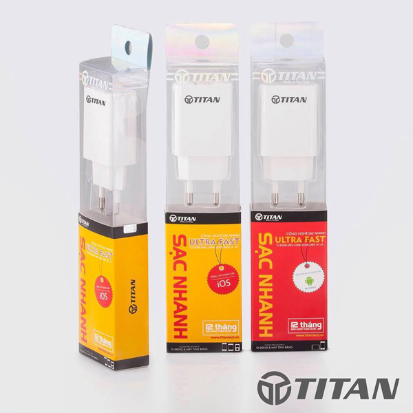 Adapter + Cable Lightning IPhone 2A TiTan SI04