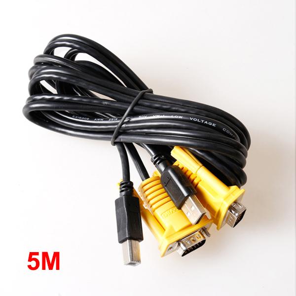 Cable KVM (VGA/USB) 5M MT-VIKI