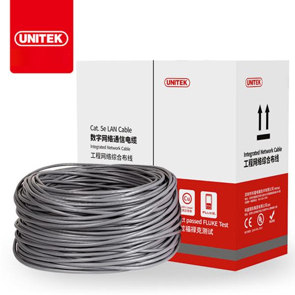 Cable LAN UTP Cat5E UNITEK Y-C879GY (Met)