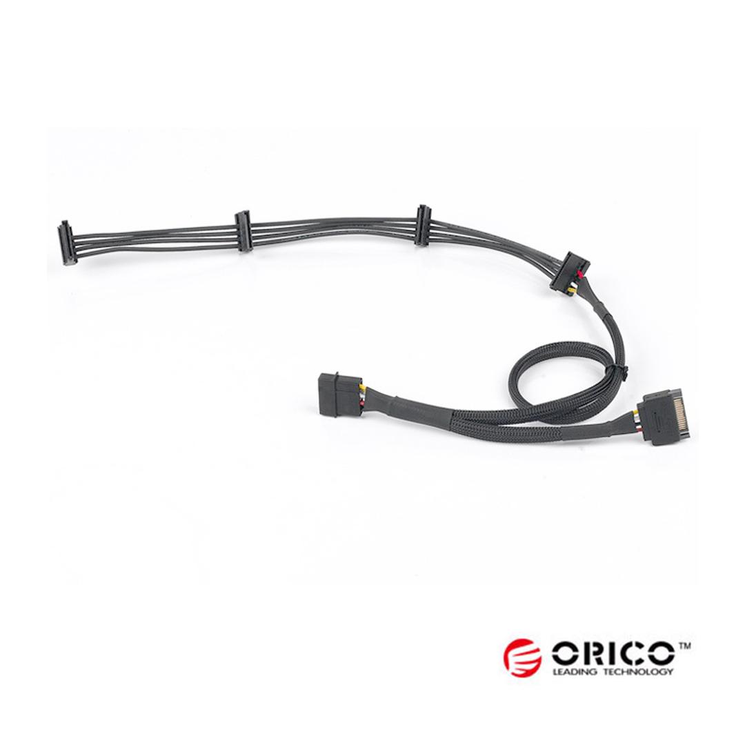 Cable Power Sata to 1IDE 4Sata ORICO CPP4P-15P-804S