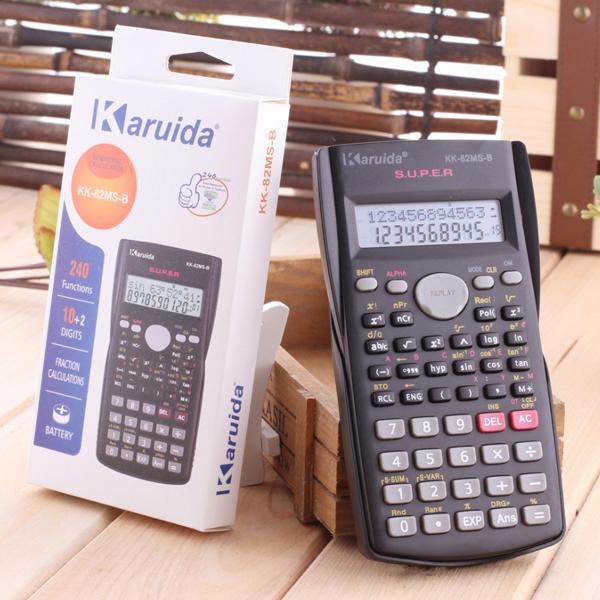 Calculator Karuida 82MS Color/Black