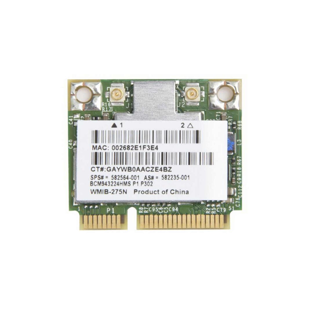 Card Mini PCIe Wifi 2.4G+5.0G 600Mbps BCM943224 Broadcom BCM43224