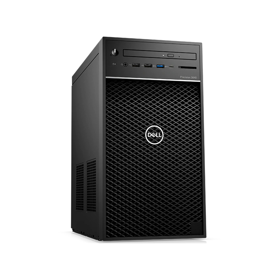 Case DELL Precision 3640 (Tower Workstation) Intel Core i5-10500 3.1Ghz Tubor 4.4Ghz 6cores-12threads RAM DDR4 16Gb M.2 NVME 250Gb HDD1000Gb KB-Mouse Wifi No Monitor