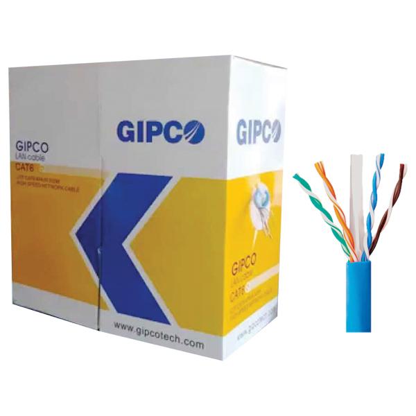 Cat6E Cable LAN GIPCO 300M/Box