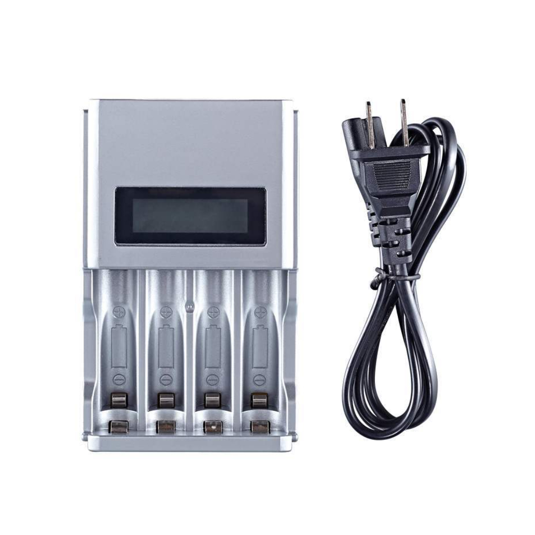 Charger Battery AA/AAA 4Ch (LCD) BH-A04