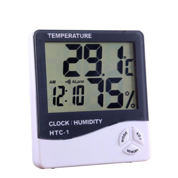 Clock Digital HTC-1 Temperature/Alarm