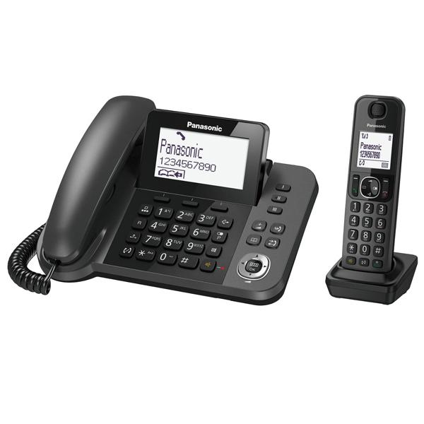 Digital Corded-Cordless Phone Panasonic KX-TGF310 / 1 Corded + 1 Cordless Handset