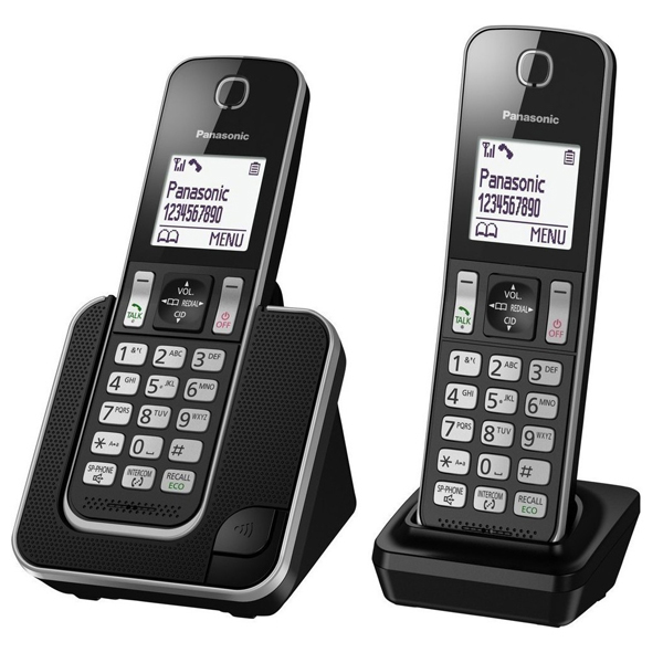 Digital Cordless Phone Panasonic KX-TGD312 / 2 Handsets