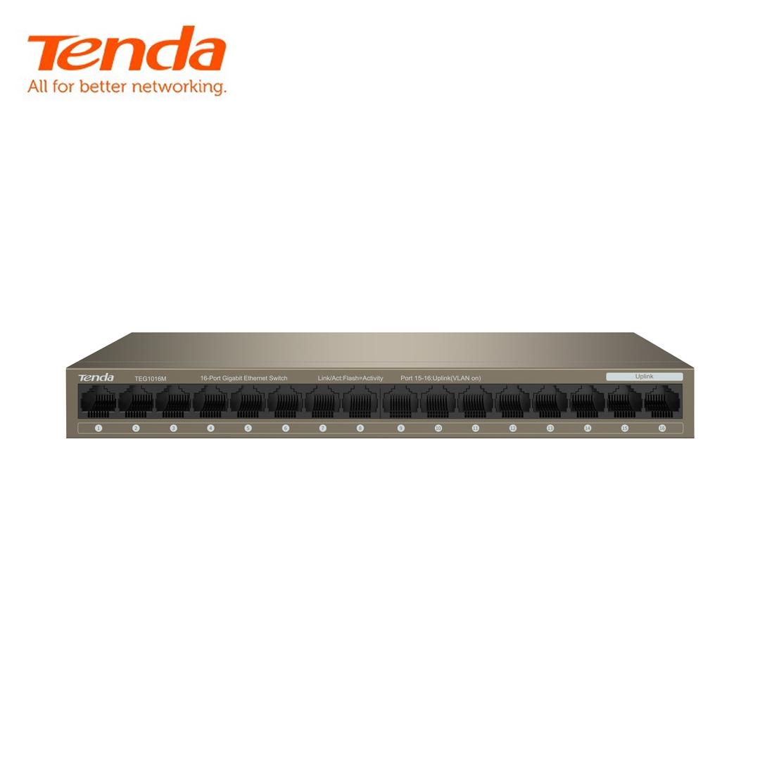 Ethernet Hub/Switch 16 port Gigabit Tenda TEG1016M