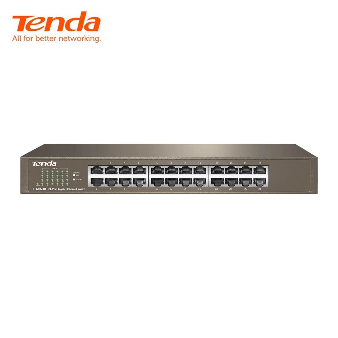 Ethernet Hub/Switch 24 port Gigabit Tenda TEG1024D