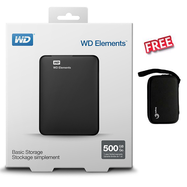 External HDD 500Gb 2.5'' WD
