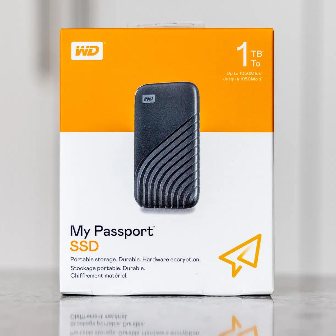 External SSD NVME 1Tb WD My Passport (Type-C)