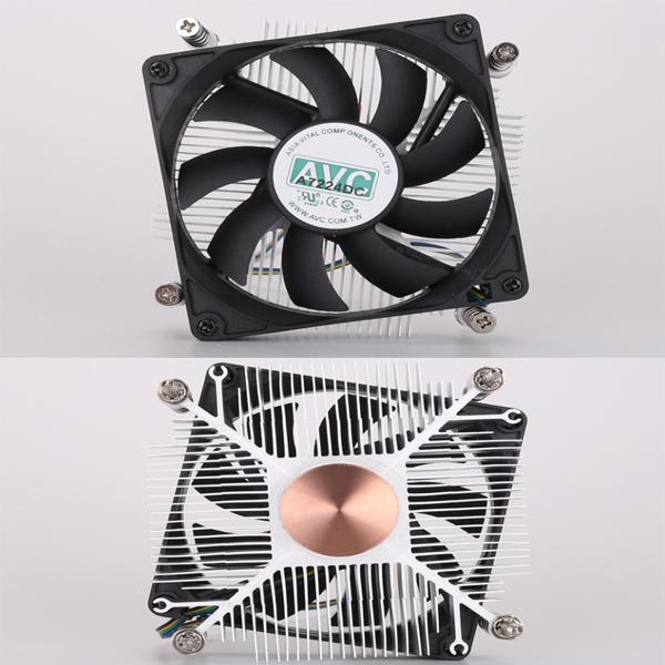 FAN CPU LGA 115x AVC 25mm copper/cu