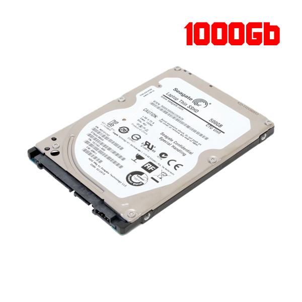 HDD 1000Gb Notebook Seagate Sata III / 7mm