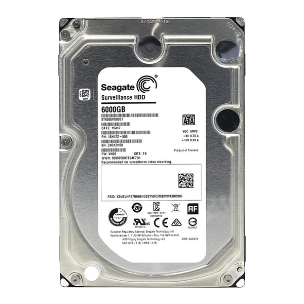 HDD 6000Gb Sata for PC/CCTV