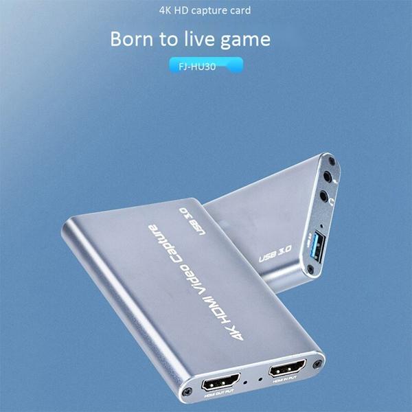 HDMI to USB 3.0 4K Box Capture FJGEAR FJ-HU30