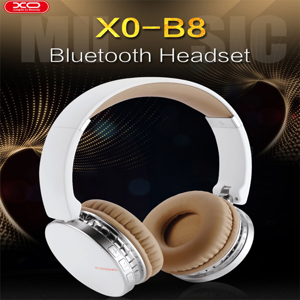 Headphone Bluetooth Earpad XO B8