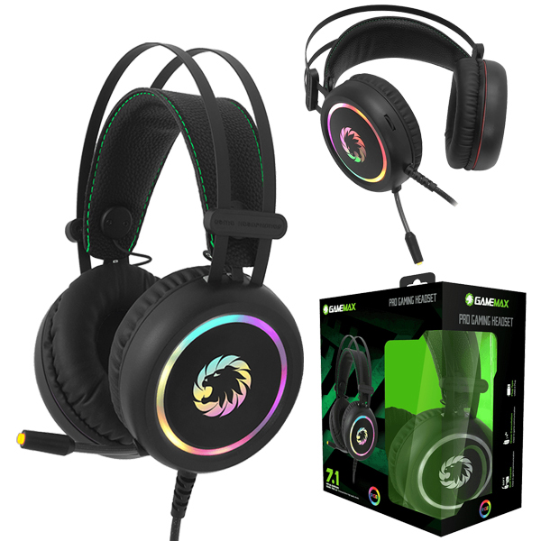Headphone GameMax HG3500 / USB Sound 7.1 RGB