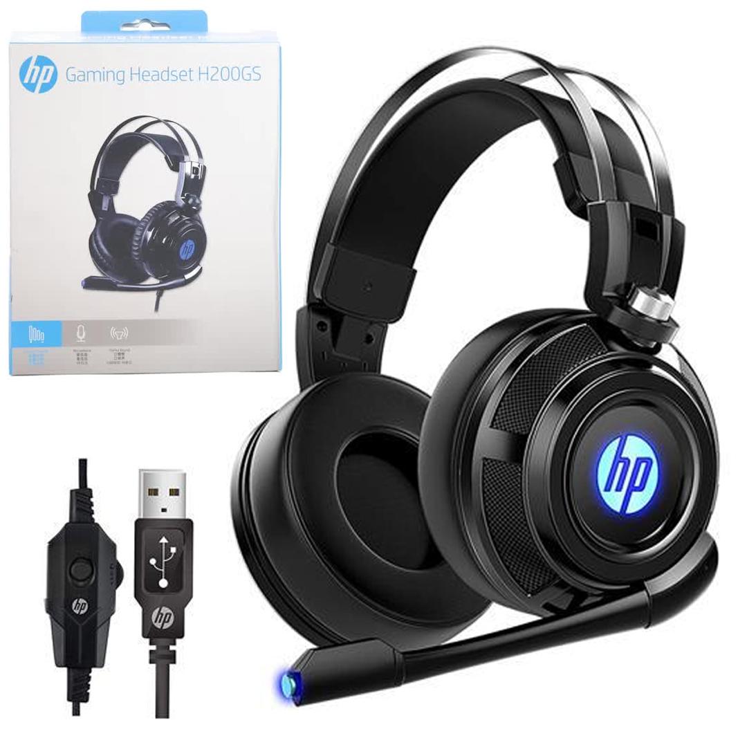 Headphone HP H200GS / USB Sound 7.1 LED