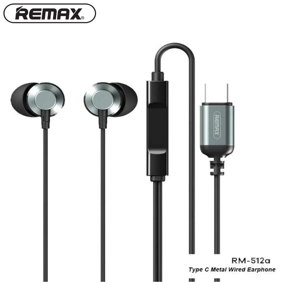 Headphone In-ear REMAX RM-512a / Type-C