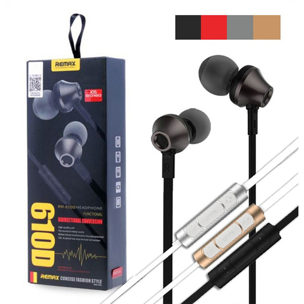 Headphone In-ear REMAX RM-610D