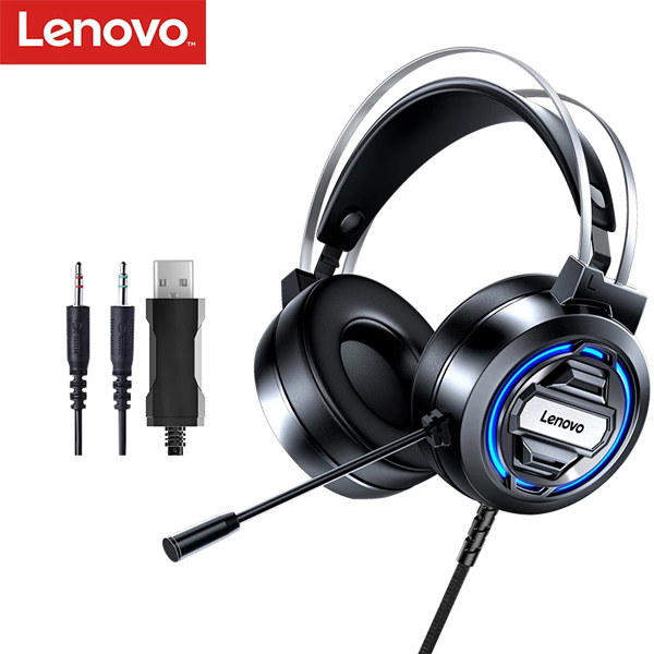 Headphone Lenovo H401 / 3.5mm+USB LED