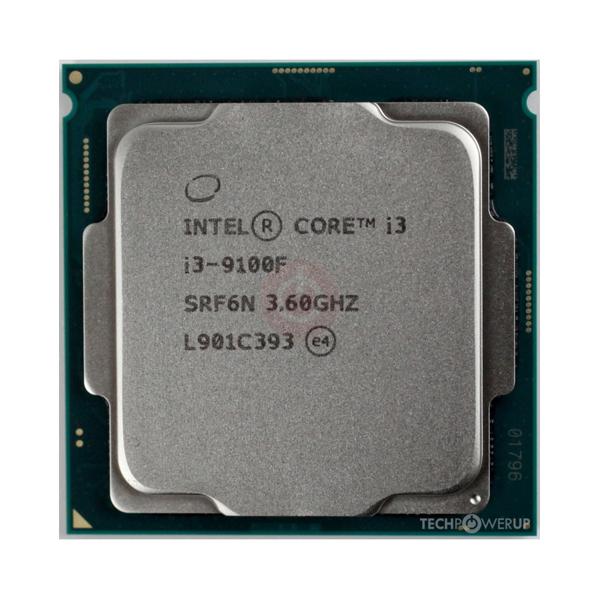 Intel® Core™ i3-9100F 3.6Ghz(Tubor 4.2Ghz) / 4 cores - 4 threads / LGA1151v2 / 9th-Gen