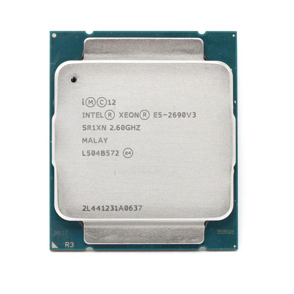 Intel® Xeon® E5-2690v3 2.6Ghz(Tubor 3.5Ghz) / 12 cores - 24 threads / LGA2011 (TRAY)