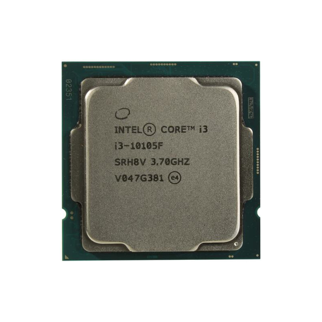Intel® Core™ i3-10105F 3.7Ghz(Tubor 4.4Ghz) / 4 cores - 8 threads / LGA1200 / 10th-Gen