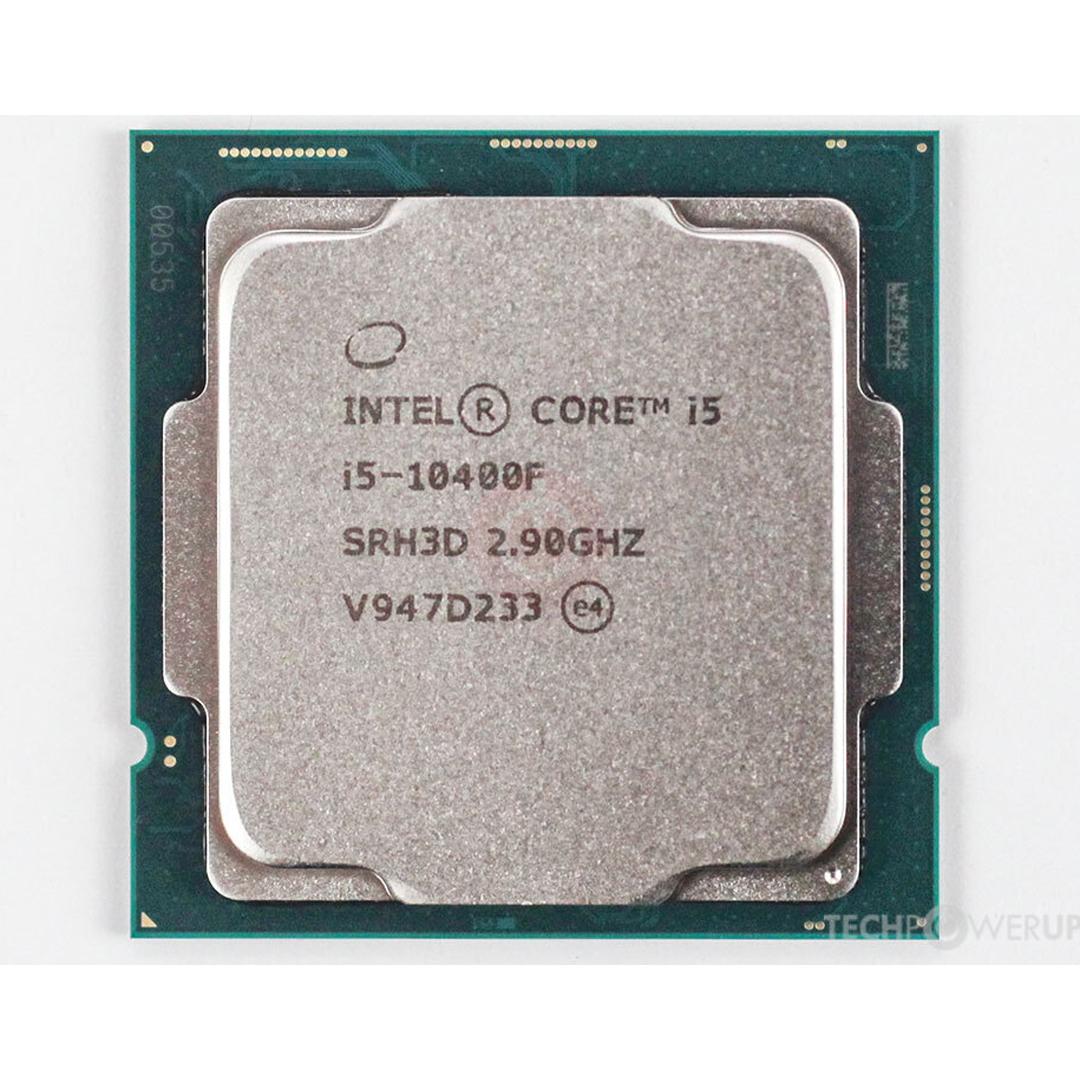 Intel® Core™ i5-10400F 2.9Ghz(Tubor 4.3Ghz) / 6 cores - 12 threads / LGA1200 / 10th-Gen (TRAY)