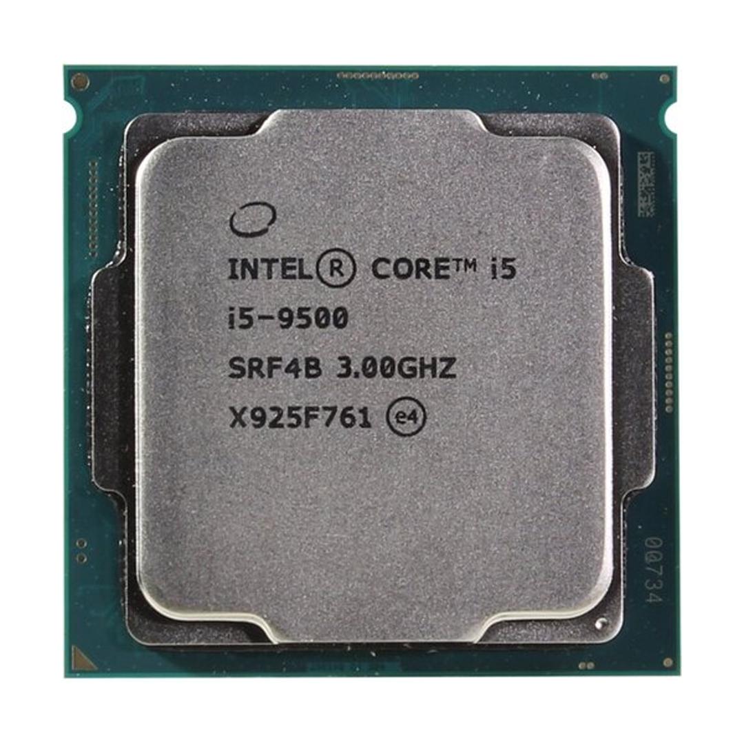 Intel® Core™ i5-9500 3.0Ghz(Tubor 4.4Ghz) / 6 cores - 6 threads / LGA1151v2 / 9th-Gen (TRAY)