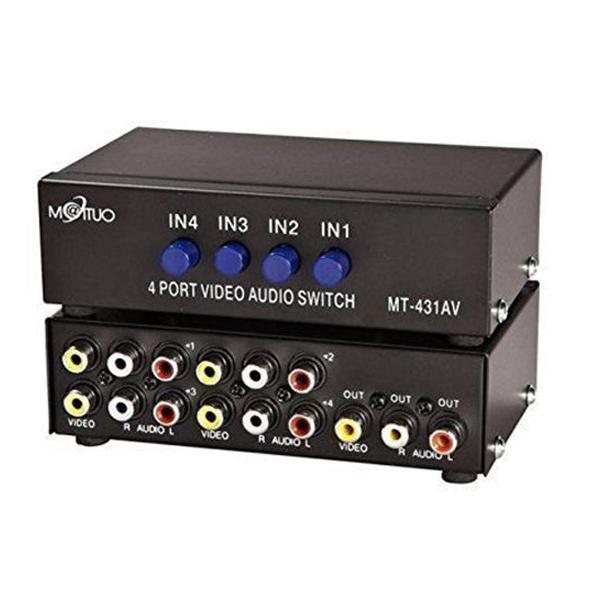 KVM AV 4 to 1 MT-VIKI MT-431AV