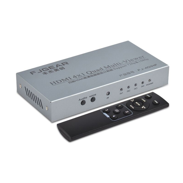 KVM Switch HDMI 4 to 1 FJGEAR FJGEAR FJ-401HF