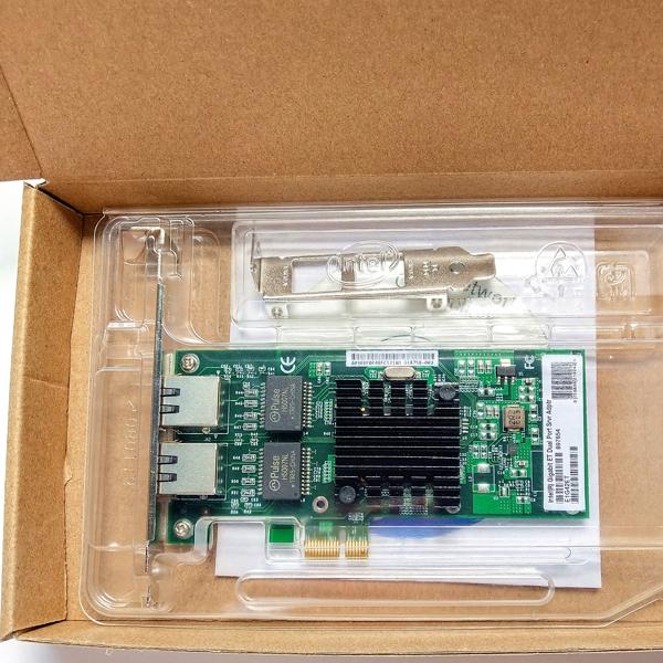 LAN Card 2port 10/100/1000 PCI-Ex INTEL 82576EB