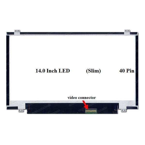 LED 14.0 Slim 40pin (1366x768)