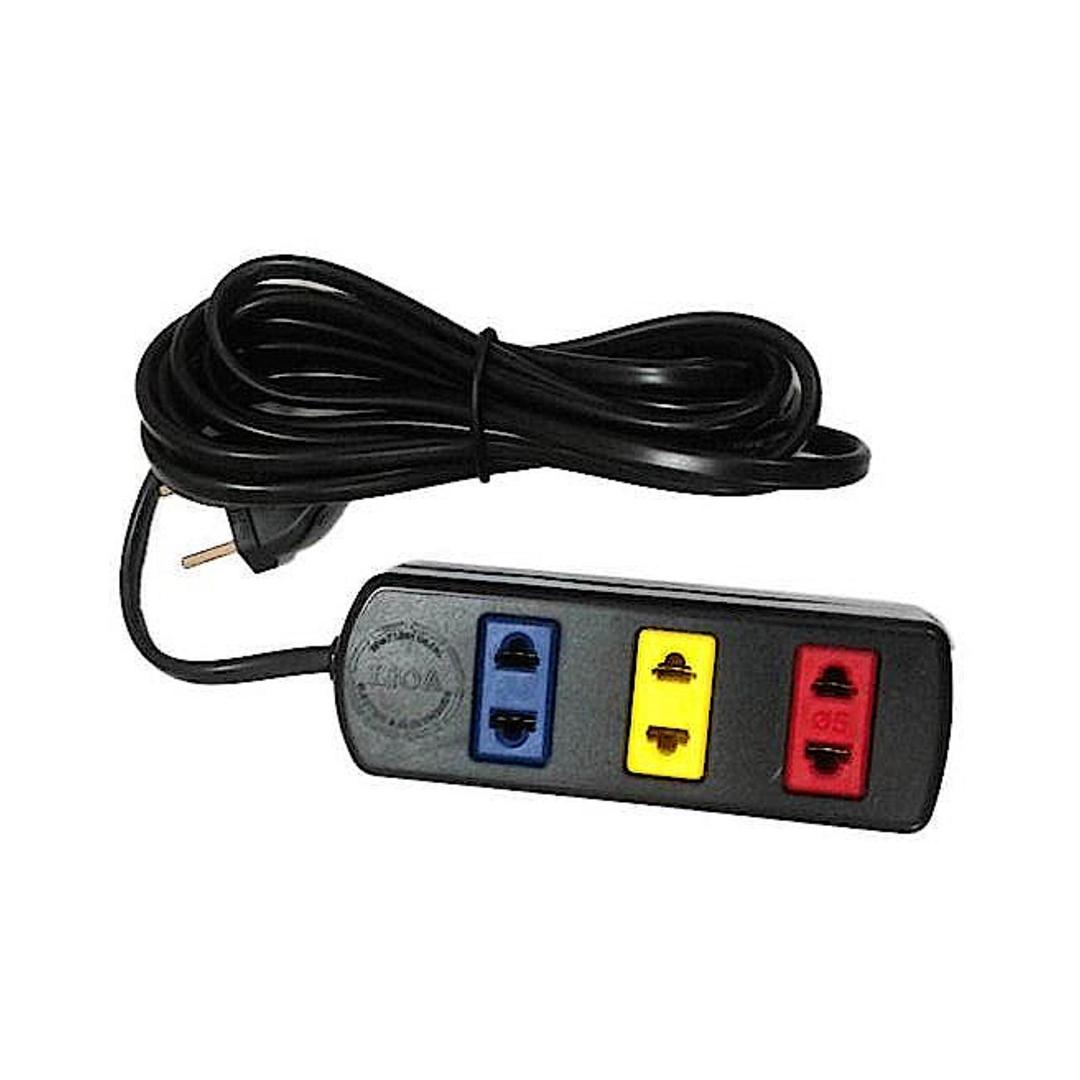 Power Bar 3 Plug 2P / 5M / 1000W LIOA 3TC5-2