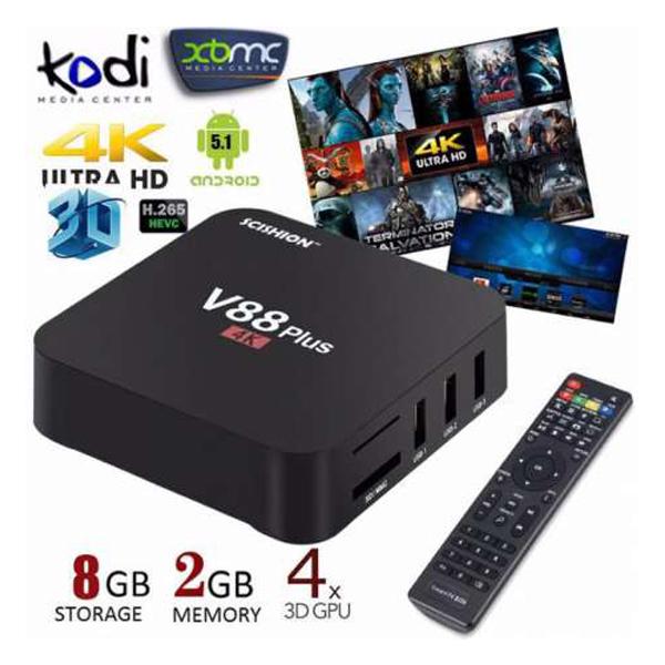 M96X-II Smart TV Box / Quad.RAM2Gb.ROM16Gb