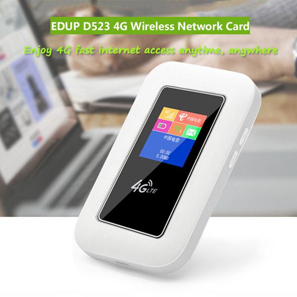 MIFI 4G EDUP D523 (LCD, 2.100mAh)