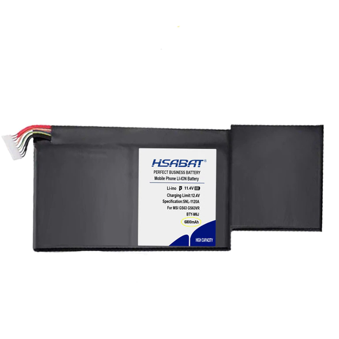 MSI GS63/BTY-M6J Battery