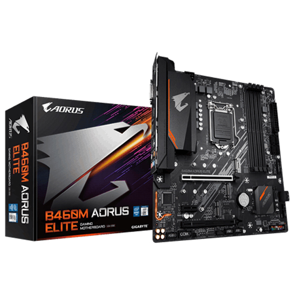 Mainboard GIGABYTE B460M AORUS PRO LGA1200 DDR4*4 support NVME