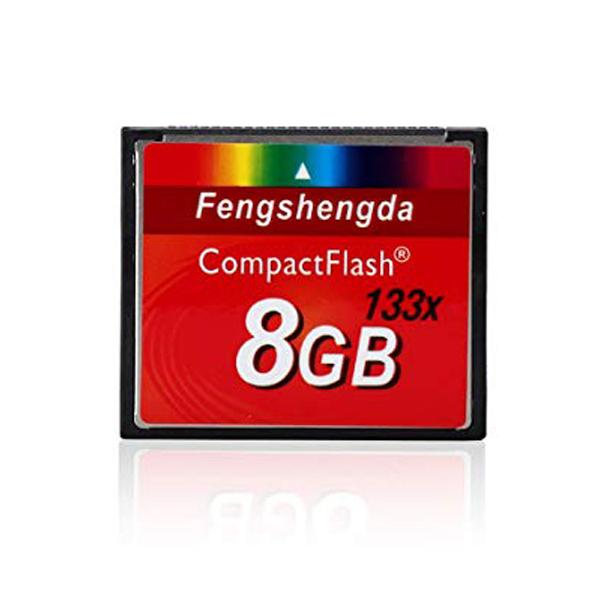 Memory CF 8Gb CompactFlash 133X