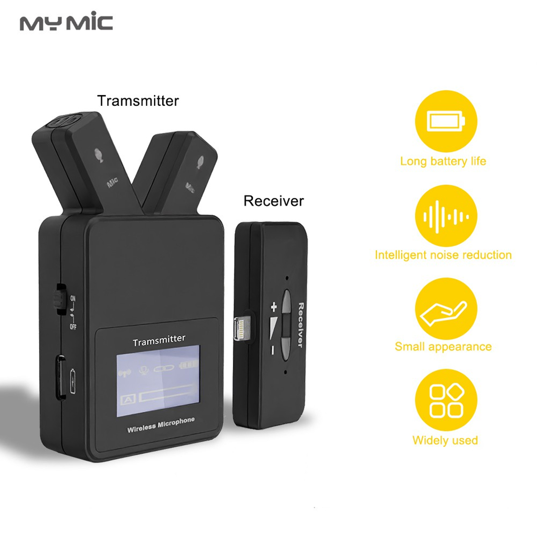 Microphone Lavalier Wireless for Mobile (Lightning) MY MIC W109