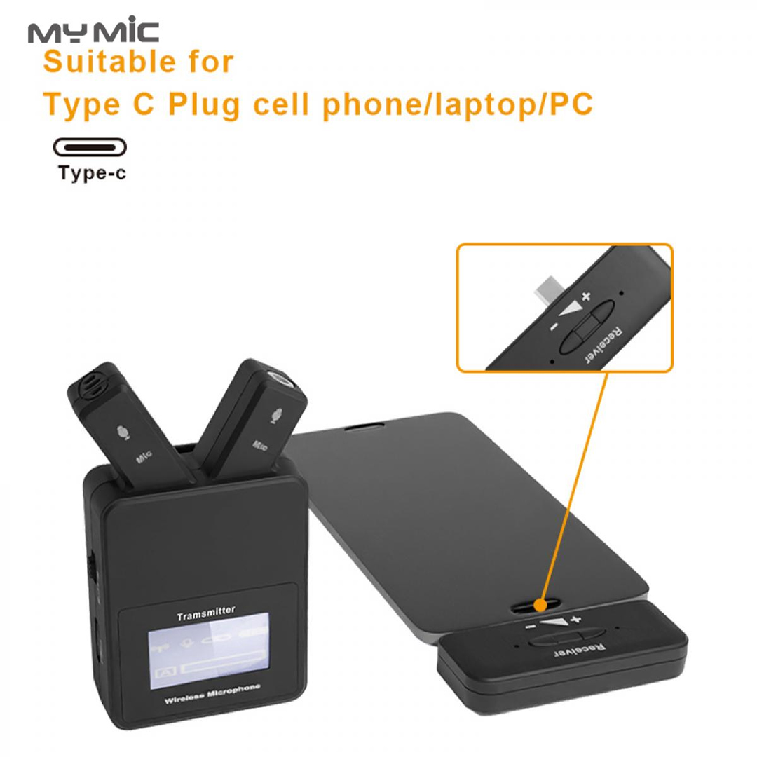 Microphone Lavalier Wireless for Mobile (Type-C) MY MIC W108