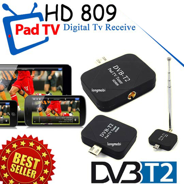 Mobile TV Receiver DVB-T2 WL-35 (MicroUSB/Android)